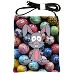 Easter Egg Bunny Treasure Shoulder Sling Bag