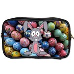 Easter Egg Bunny Treasure Travel Toiletry Bag (One Side)