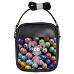 Easter Egg Bunny Treasure Girl s Sling Bag