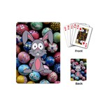 Easter Egg Bunny Treasure Playing Cards (Mini)