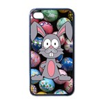 Easter Egg Bunny Treasure Apple iPhone 4 Case (Black)