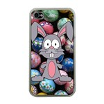 Easter Egg Bunny Treasure Apple iPhone 4 Case (Clear)