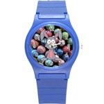 Easter Egg Bunny Treasure Plastic Sport Watch (Small)