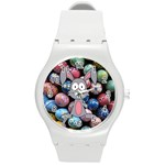 Easter Egg Bunny Treasure Plastic Sport Watch (Medium)