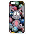 Easter Egg Bunny Treasure Apple iPhone 5 Seamless Case (Black)