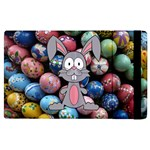 Easter Egg Bunny Treasure Apple iPad 2 Flip Case