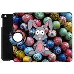 Easter Egg Bunny Treasure Apple iPad Mini Flip 360 Case