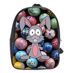 Easter Egg Bunny Treasure School Bag (XL)