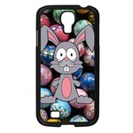 Easter Egg Bunny Treasure Samsung Galaxy S4 I9500/ I9505 Case (Black)