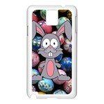 Easter Egg Bunny Treasure Samsung Galaxy Note 3 N9005 Case (White)