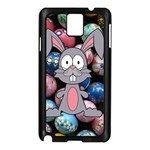Easter Egg Bunny Treasure Samsung Galaxy Note 3 N9005 Case (Black)