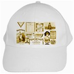 Parisgoldentower White Baseball Cap