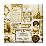 Parisgoldentower Ceramic Tile