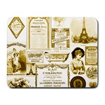 Parisgoldentower Small Mouse Pad (Rectangle)