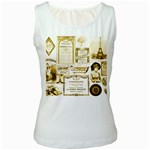 Parisgoldentower Women s Tank Top (White)