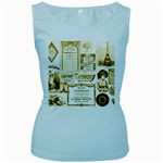 Parisgoldentower Women s Tank Top (Baby Blue)