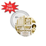 Parisgoldentower 1.75  Button (100 pack)