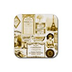 Parisgoldentower Drink Coasters 4 Pack (Square)