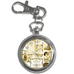 Parisgoldentower Key Chain Watch