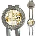 Parisgoldentower Golf Pitchfork & Ball Marker