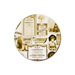 Parisgoldentower Drink Coaster (Round)