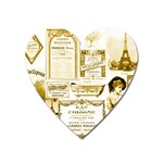 Parisgoldentower Magnet (Heart)