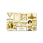 Parisgoldentower Magnet (Name Card)