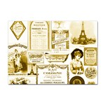 Parisgoldentower A4 Sticker 10 Pack