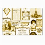 Parisgoldentower Postcard 4 x 6  (10 Pack)