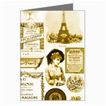 Parisgoldentower Greeting Card
