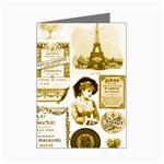 Parisgoldentower Mini Greeting Card
