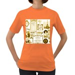 Parisgoldentower Women s T-shirt (Colored)