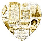 Parisgoldentower Jigsaw Puzzle (Heart)