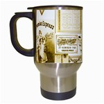 Parisgoldentower Travel Mug (White)