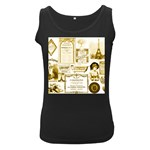 Parisgoldentower Women s Tank Top (Black)