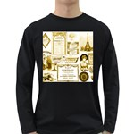 Parisgoldentower Men s Long Sleeve T-shirt (Dark Colored)