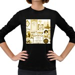 Parisgoldentower Women s Long Sleeve T-shirt (Dark Colored)