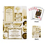 Parisgoldentower Playing Cards Single Design