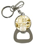 Parisgoldentower Bottle Opener Key Chain
