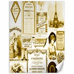 Parisgoldentower Canvas 12  x 16  (Unframed)