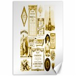 Parisgoldentower Canvas 20  x 30  (Unframed)