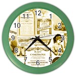 Parisgoldentower Wall Clock (Color)