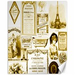 Parisgoldentower Canvas 11  x 14  (Unframed)
