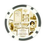 Parisgoldentower Poker Chip