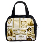 Parisgoldentower Classic Handbag (Two Sides)