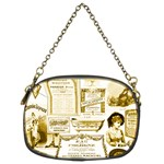 Parisgoldentower Chain Purse (Two Sided)