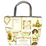Parisgoldentower Bucket Handbag