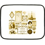 Parisgoldentower Mini Fleece Blanket (Two Sided)