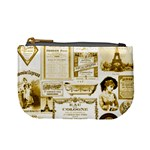 Parisgoldentower Coin Change Purse