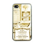 Parisgoldentower Apple iPhone 4 Case (Clear)